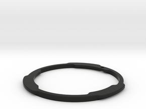 Minolta MD to EOS EF Flange in Black Premium Versatile Plastic