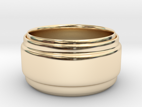 Grace in 14k Gold Plated Brass: Small