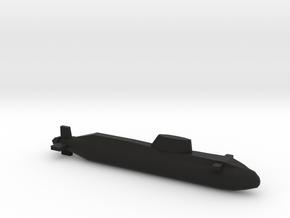 Astute-class SSN, Full Hull, 1/2400 in Black Premium Versatile Plastic