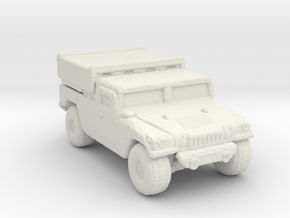 M1097a2 EFOGM 220 scale in White Natural Versatile Plastic