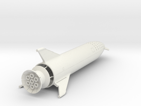 BFR MOon Mission 1/300 in White Natural Versatile Plastic
