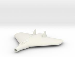 (1:144) Lippisch Delta VI with Lorin Ramjet in White Natural Versatile Plastic