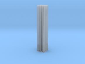 Betonmast 8m rund, hohl, DDR, 1:87, 25/50 Stück in Smoothest Fine Detail Plastic: Medium