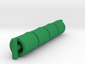 Repto Cuffs in Green Processed Versatile Plastic