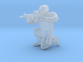 Swat-team - RIFLE shooter C in Smooth Fine Detail Plastic