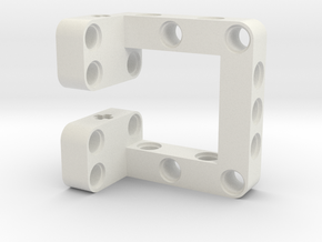 Lego Sensor Mount in White Natural Versatile Plastic