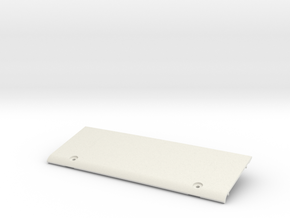 Tamiya Blazing Blazer Rear Roof Wing Panel in White Natural Versatile Plastic