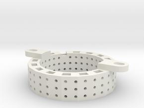 Motor Mounting Ring LIMA in White Natural Versatile Plastic