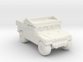 M1097A2 CUSV 285 scale in White Natural Versatile Plastic