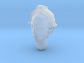 Lady Command Maria Head in Smooth Fine Detail Plastic