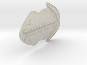 Stone Kind Fantasy Armor  in Natural Sandstone: Small