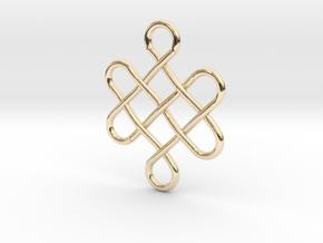Celtic Design in 14K Yellow Gold