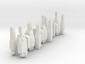 3x SUPERSTRIKE 1/285 in White Natural Versatile Plastic