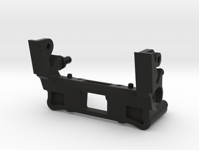 045007-01 AMPRO Hornet Shock & Wing Mount in Black Natural Versatile Plastic