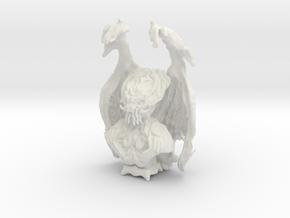 Cthulhu, Stygian Dreamer in White Natural Versatile Plastic