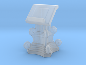 Lectern Book Stand A in Smooth Fine Detail Plastic