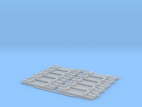 Lamberet SR1 Heckplatte x10 in Smooth Fine Detail Plastic