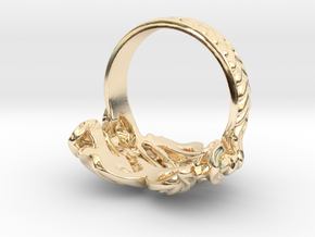 Heart on Fire Ring. in 14K Yellow Gold: 7 / 54