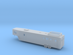 1/87 Modern Horesetrailer Kit in Smooth Fine Detail Plastic