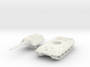 E-100 tank 1/45  in White Natural Versatile Plastic