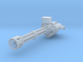 1.20 MINIGUN GATLING HUGHES 530G in Smoothest Fine Detail Plastic