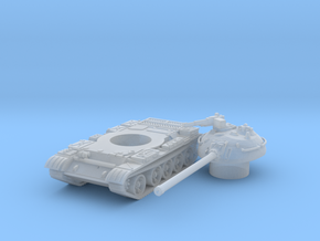 T 54 tank scale 1/160 in Smooth Fine Detail Plastic
