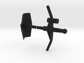 Magno Centaurus Weapons in Black Natural Versatile Plastic