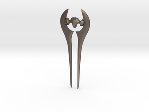 Halo:CE Energy Sword in Polished Bronzed-Silver Steel