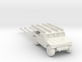 M1097a2 AIM-120B 220 scale in White Natural Versatile Plastic