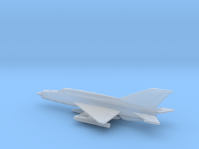MiG-21bis (w/o landing gears) in Smooth Fine Detail Plastic: 6mm