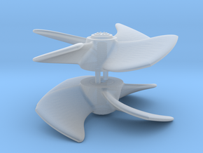 Tugboat Propeller in Smooth Fine Detail Plastic