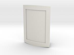 3D Photo Frame 9x13 cm (3.5x5 inch) in White Natural Versatile Plastic