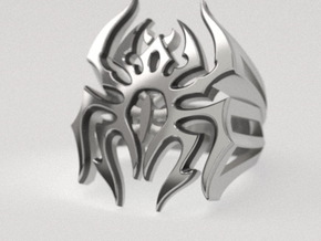 Spider ring - original in Natural Silver: 8 / 56.75