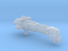 Adeptus Mechanicus Cruiser Mars fleet scale in Smooth Fine Detail Plastic