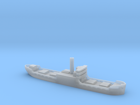 Three island cargo ship 1/1250 in Smooth Fine Detail Plastic