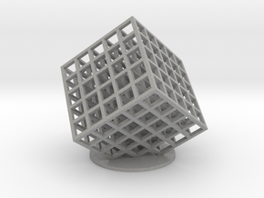 lattice cube 5x5x5 in Aluminum