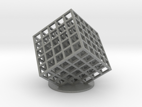 lattice cube 5x5x5 in Gray Professional Plastic