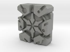 """13th Prime """"Blockhead"""" Matrix Plate in Gray Professional Plastic"""
