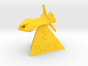 Species 8472 - Fleet 3 in Yellow Processed Versatile Plastic