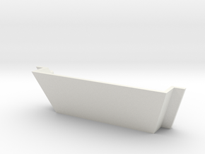 Madcatz TE2/TE2+ Latch (Logo) in White Natural Versatile Plastic
