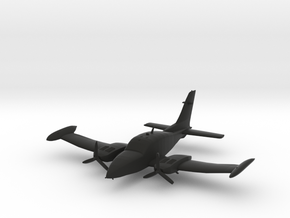 Cessna 310 in Black Natural Versatile Plastic