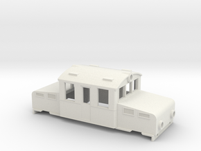 Swedish SJ accumulator locomotive type Öa - H0-sca in White Natural Versatile Plastic