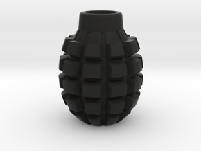 Frag Grenade Body in Black Natural Versatile Plastic