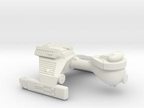 3788 Scale Klingon E4S Scout WEM in White Natural Versatile Plastic