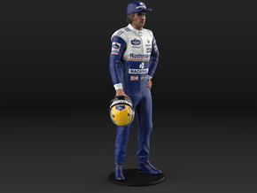 Ayrton 1994 1/8 Standing Figure in Full Color Sandstone