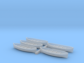 1-196 lifeboats in Smooth Fine Detail Plastic