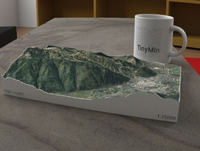 Aspen Mountain, Colorado, USA, 1:25000 in Full Color Sandstone