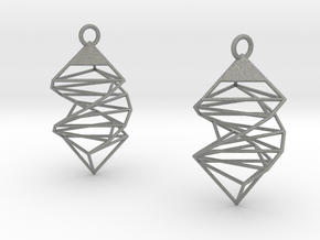 Earrings in Gray PA12