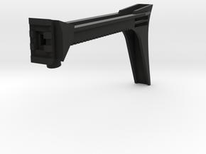 Anarchy Hybrid Shoulder Stock in Black Natural Versatile Plastic