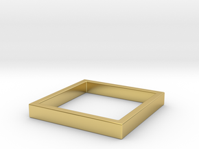 Edge 2 in Polished Brass: 8 / 56.75
